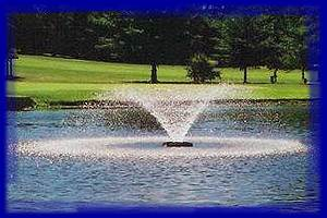 aeration equipment for lake and pond management